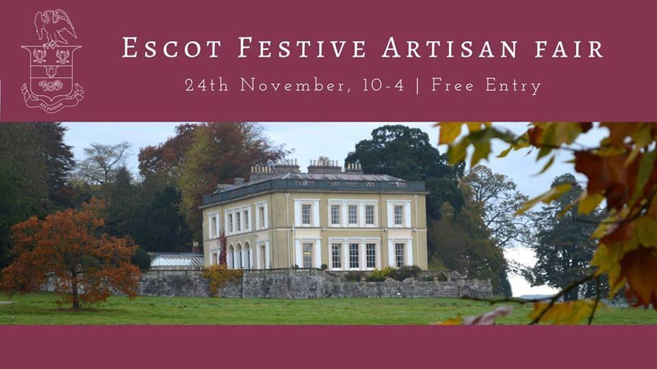 Treespeake exhibition - Escot Festive Artisan Fair